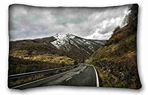 """Generic Personalized Nature DIY Pillow Cover Size 20""""X30"""" suitable for King-bed"""