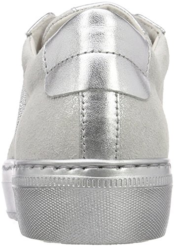 Gabor Casual, Scarpe Stringate Derby Donna Bianco (Ice/Silber)