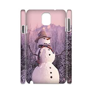 Snowman Phone Case For samsung galaxy note 3 N9000 [Pattern-1]