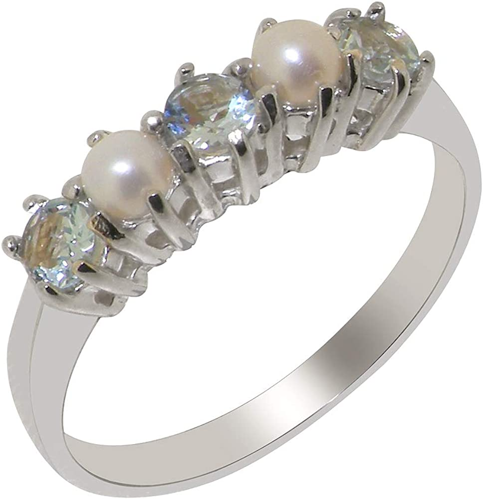 Freshwater Pearl Solid Sterling Silver Ring Traditional ANY SIZE 4 TO 12