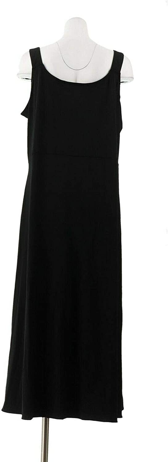 BROOKE SHIELDS Timeless Petite Slvless Maxi Dress A307771