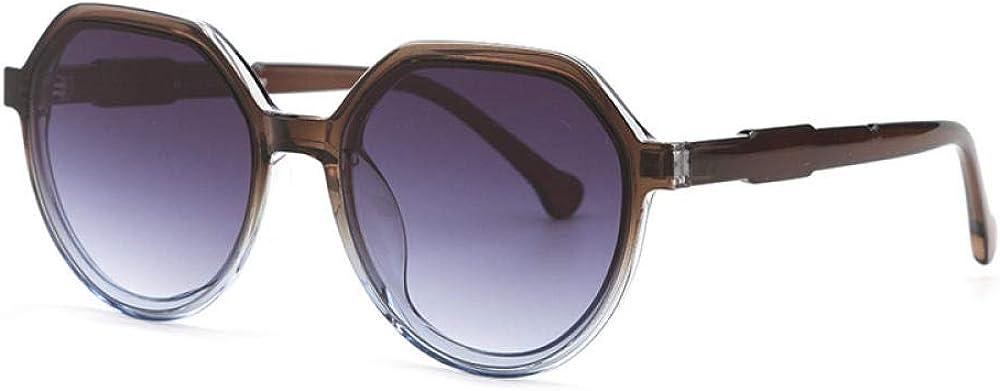 FIFY Personnalité irrégulière grand cadre lunettes de soleil de l'océan version coréenne Harajuku style tempérament street shot lunettes de soleil DY6610 A