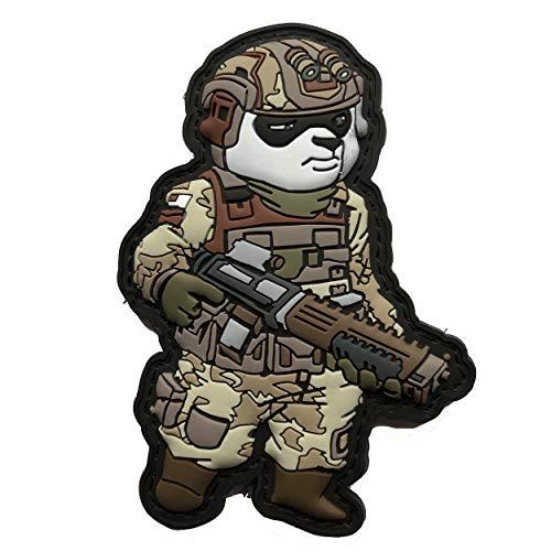 Tactical Panda Soldier Patriot ProGun Patch Airsoft MilSim Paintball (Best Milsim Airsoft Guns)