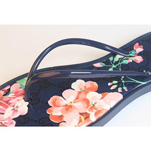 DULEE - Zapatillas de estar por casa de Caucho para mujer Azul
