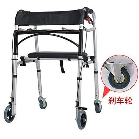 Liu Yu·casa creativa Plegable Caminador,2 Ruedas Andador ...