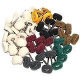 50PCS Abrasive Buffing Polishing Wheel Set For
