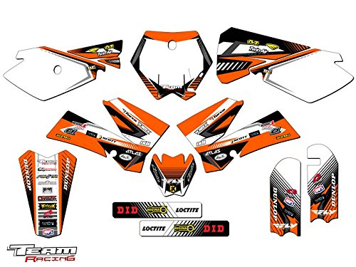 Team Racing Graphics kit for 2006-2012 KTM SX 85/105, ANALOGComplete kit