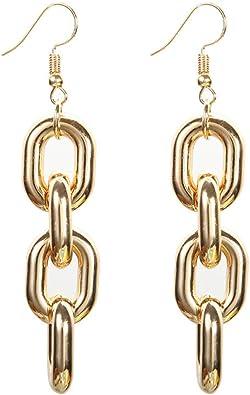 Gold Plated Earring Women Girl Hollow Stud Earrings Green Wedding Gift for Family