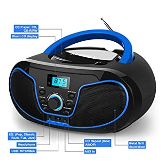 Best Portable Sport Stereo Bluetooth Boombox