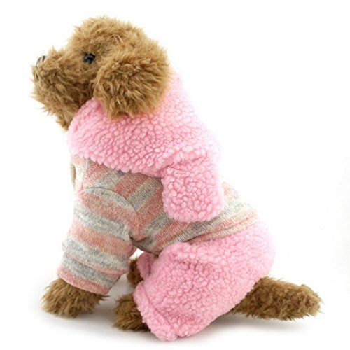 [SELMAI Dog Coat Pattern Doggy Sweaters Bunny Small Toy Dog Clothes Pink XL] (Mean Girls Bunny Halloween Costume)