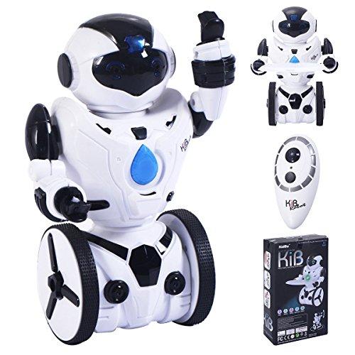 Costzon Remote Control Robot Smart Self Balancing 2 4G Rc Toy Robot