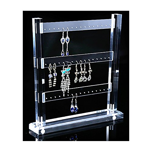 Earring Display Acrylic Modern Exhibition Stands Trade Show Store Gallery - Stores Gallery