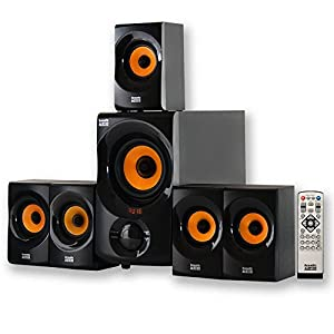 Acoustic Audio AA5170 Home Theater 5.1 Sistema de altavoces Bluetooth 700W con Powered Sub