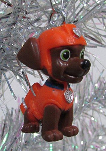 paw patrol 12 piece christmas ornament set featuring skye marshall chase rubbie - Paw Patrol Christmas Tree Decorations