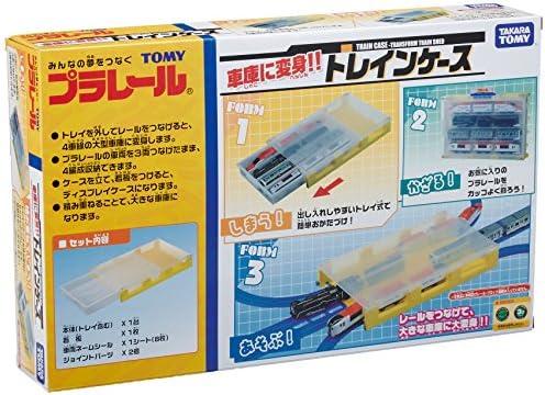 Tomica PraRail Train Case (Transform Train Garage) by Takara Tomy