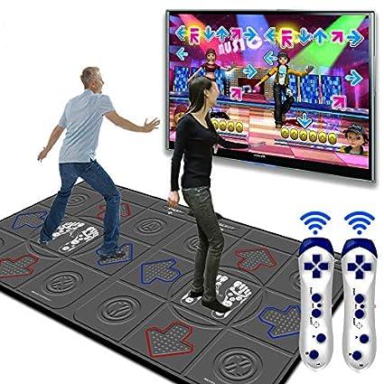 Amazon.com: Dance mat 3D Double Yoga Somatosensory Game ...