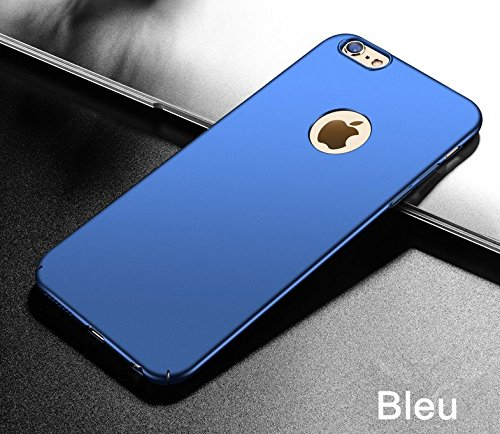 6S Choc Mince pour 6 7 Dur 4 Apple Anti 6 Mat Rayures iPhone Intgrale iPhone JEPER Coque Bleu Housse Protection 6S Anti PC Telephone Ultra Case Fini ZPqAntwU