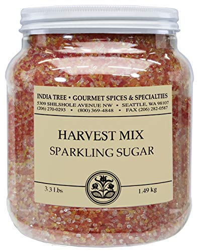 - India Tree Sparkling Sugar Harvest Mix, 3.3lbs