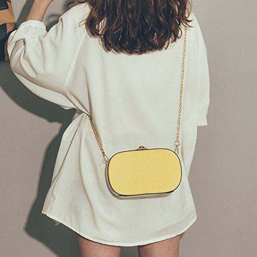 2018 hombro Messenger Wave Bolsas Bag Wild New ZQ Girl Chain de Corea 5T0wTxAtq