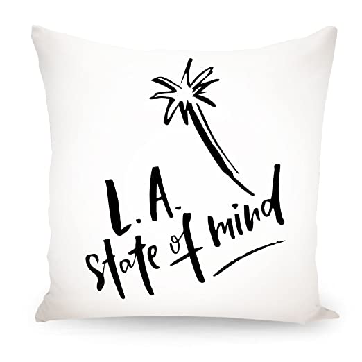 artboxONE L.A. Estado de ánimo diseño cojín, poliéster ...