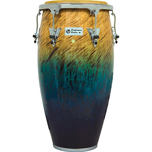 (LP Performer Series Conga with Chrome Hardware 12.5 in. Tumba Blue Fade)