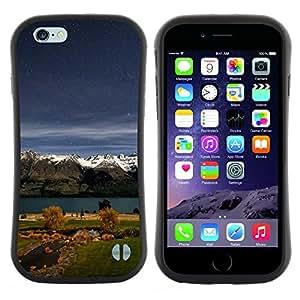 "Hypernova Slim Fit Dual Barniz Protector Caso Case Funda Para Apple (5.5 inches!!!) iPhone 6 Plus / 6S Plus ( 5.5 ) [Naturaleza Hermosa Forrest Verde 156""]"