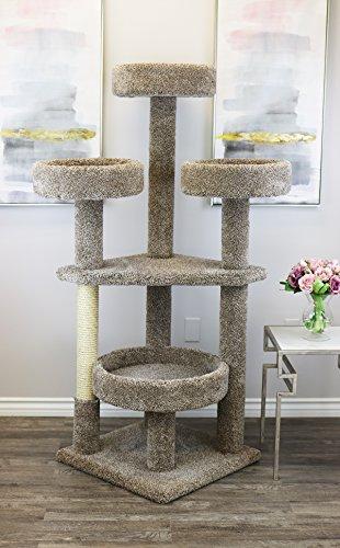 Prestige Cat Trees 130012-Neutral Main Coon Cat Tower Cat Tree