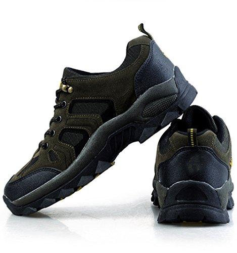 Senderismo Zapatos De Primavera O Invierno Del Verano De Los Hombres Al Aire Libre Respirables CHT De Varios Tamaños Multi-colores Green