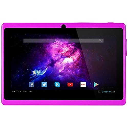 Alldaymall Tablets With Android 7 Touchscreen Dual Camera, 1024x600 Resolution, Netflix, Skype, 3D Game Supported Coupons