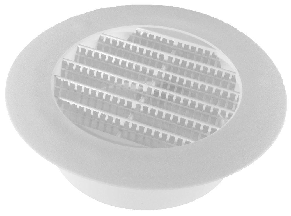 Speedi-Products SM-RSV 4 Diameter 4-Inch Plastic Round Soffit Vent
