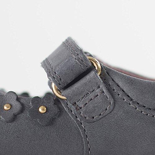 Bobux , Chaussures premiers pas pour bébé (fille) gris gris