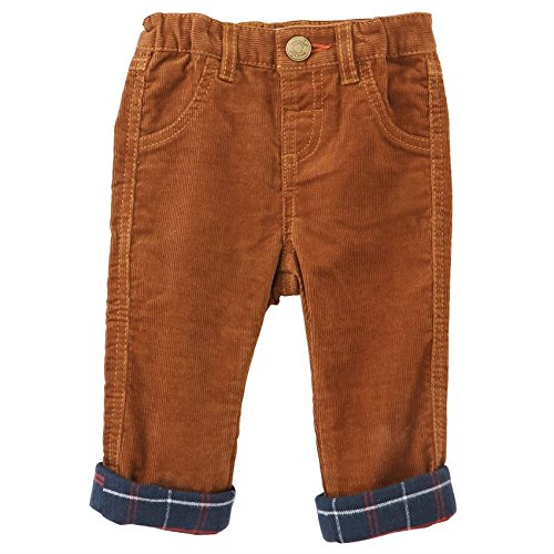 Mud Pie  Baby Boy's Corduroy Pants (Infant/Toddler) Tan 5T (Corduroy Tan Pants)