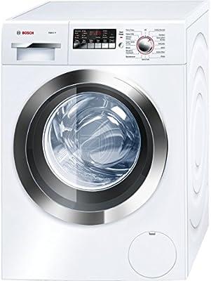 Bosch WAP24202UC Independiente Carga frontal Cromo, Color blanco ...