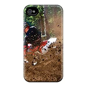 Phone Case Iphone 4/4s Well-designed Hard Case Cover Sport Motocross Protector