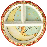 Baby Cie Rever D'Etre Une Star 'Wish On A Star' Round Textured Sectioned Plate, Multicolor