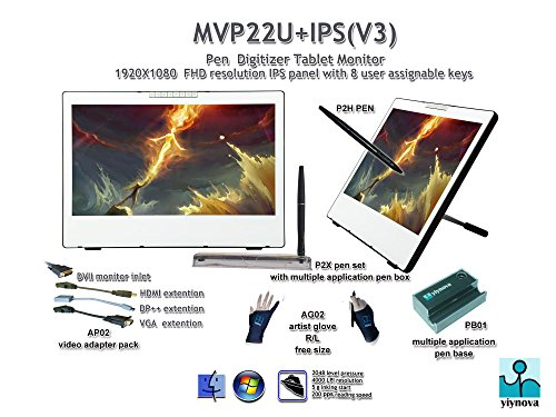 Yiynova Mvp22u V3 Tablet Monitor Ips Panel Dvii Digital
