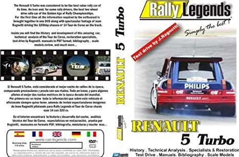 Rally Legends Renault 5 Turbo