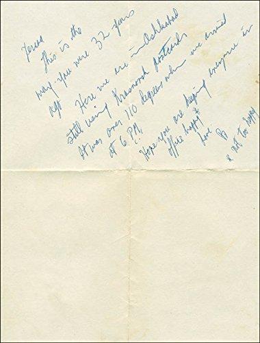 Robert F. Kennedy - Autograph Letter - Robert Autograph Kennedy