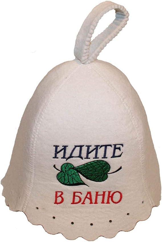 Russian Ukrainian Banya Bathhouse Sauna Authentic Genuine Wool Hat One Size Fits All Unisex