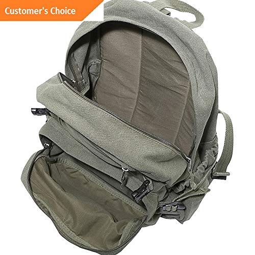 Sandover Cotton Canvas Medium Backpack 4 Colors Everyday Backpack NEW Model LGGG 7289