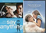 Romance DVD Bundle - Say Anything & The Notebook 2-Movie Set