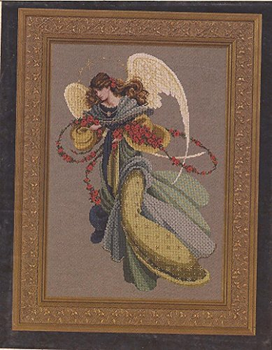 Angelica - Lavender & Lace Victorian Designs Counted Cross Stitch Chart L&L44 - Lavender And Lace Cross Stitch
