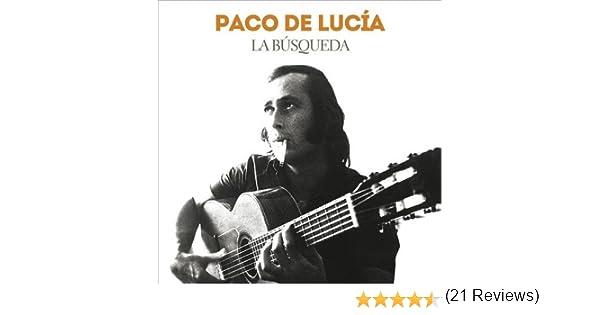 La Búsqueda: Paco De Lucía: Amazon.es: Música