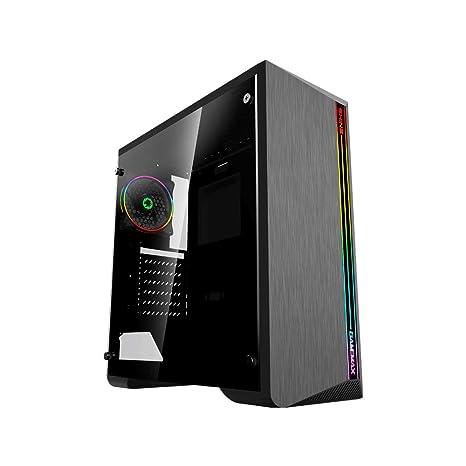 GameMax Shine G517 Caja ATX para PC Gaming 0,50 mm SPCC 3 x ...