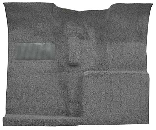 1955 to 1973 Jeep CJ-5 Carpet Custom Molded Replacement Kit, Passenger Area (801-Black Plush Cut Pile)