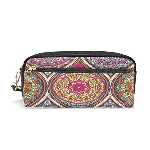 Wamika Vintage Mandalas Decorative Elements Pencil Bag Case
