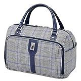 London Fog Knightsbridge Hl17 Cabin Bag, Grey/Navy Plaid