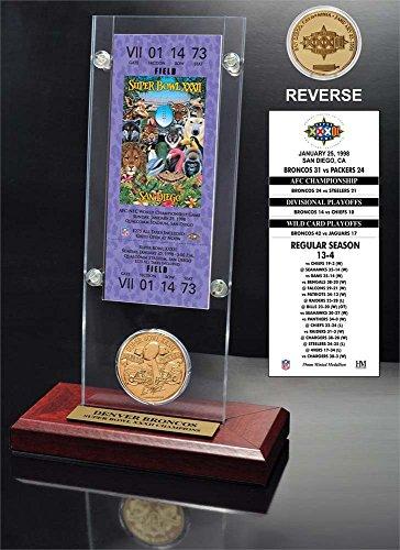 super bowl ticket picture frame - 8