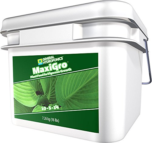 General Hydroponics MaxiGro Rapid Growth Concentrate, 16 lb.
