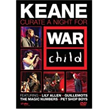 KEANE - CURATES A NIGHT FOR WAR CHILD